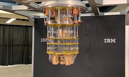 The IBM Q quantum system.